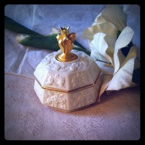 Vintage Lenox Birthstone May Trinket Box